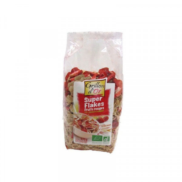 Super flakes fruits rouges - 375 g