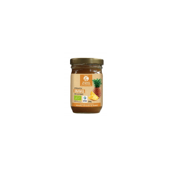 Confiture d'ananas 79% - 250g