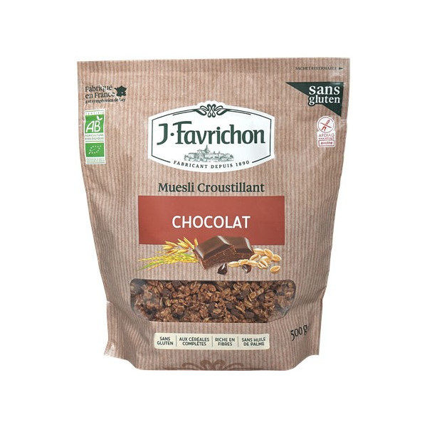 Muesli croustillant chocolat - 500 g