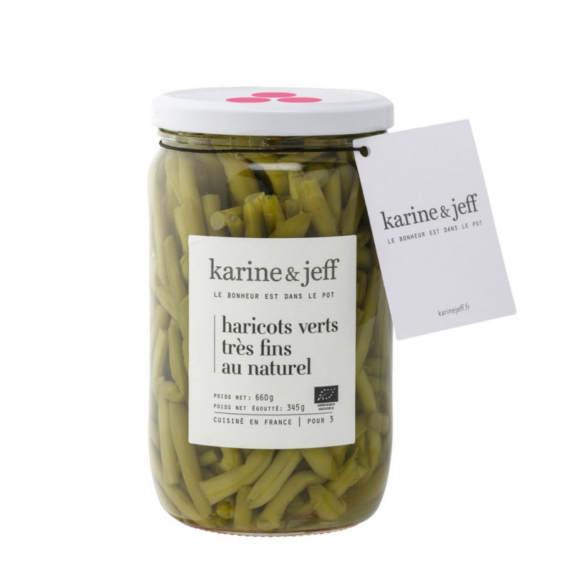 Haricots verts extra fins - 490 g