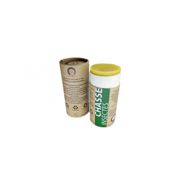 Baume solide chasse insectes - 80ml