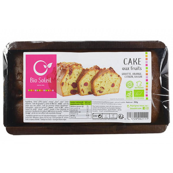 Cake aux Fruits - 350g