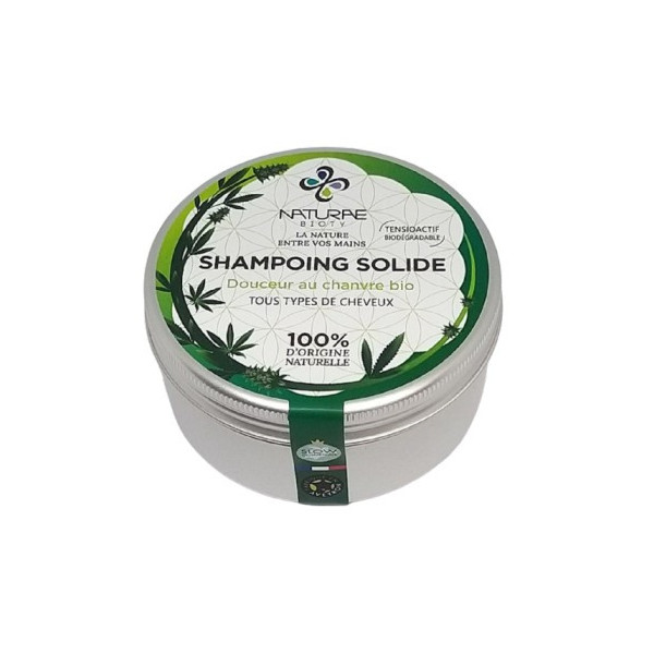 Shampoing solide douceur chanvre - 80g*