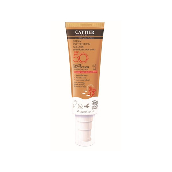 Spray protection solaire SPF50 - 125ml