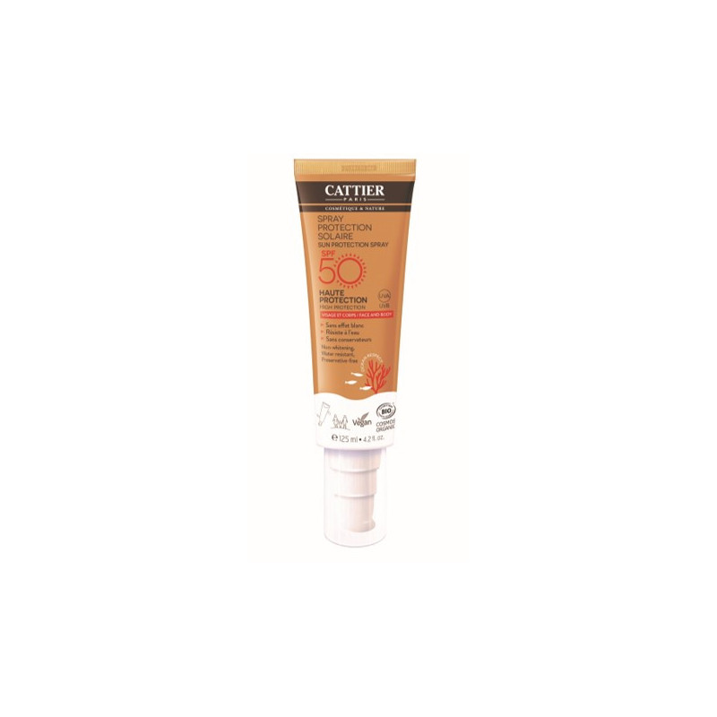 Spray protection solaire SPF50+ - 125ml