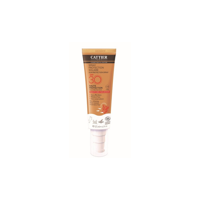 Spray protection solaire SPF30 - 125ml