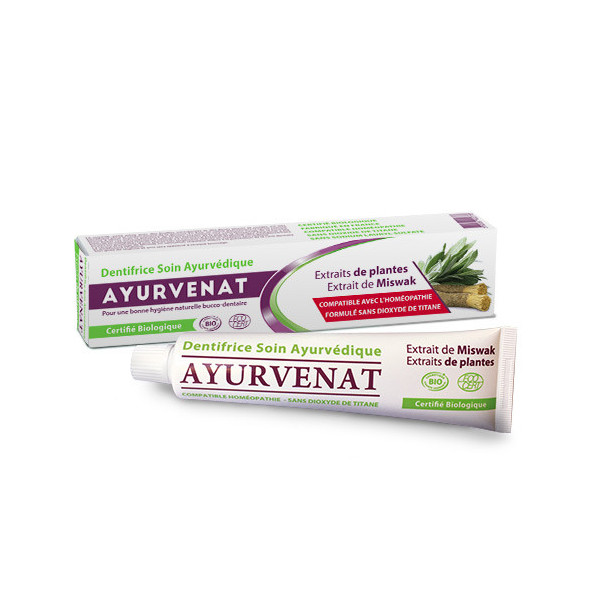 Dentifrice ayurvédique au siwak - 75ml