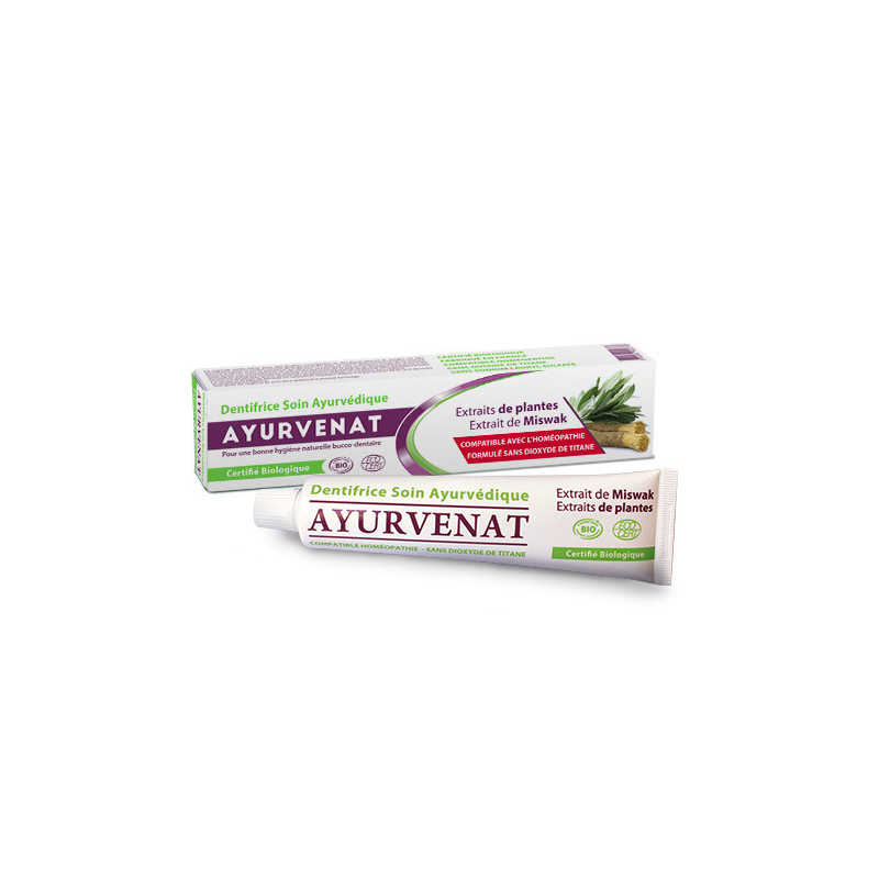 Dentifrice ayurvédique au miswak - 75 ml