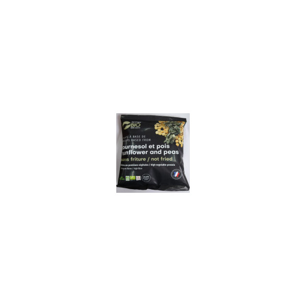 Chips sans friture tournesol et pois - 30g