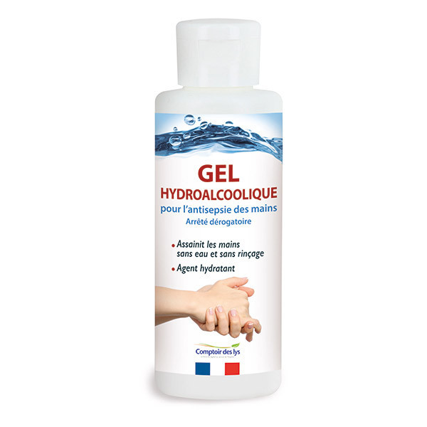 Gel hydroalcoolique mains - 100ml