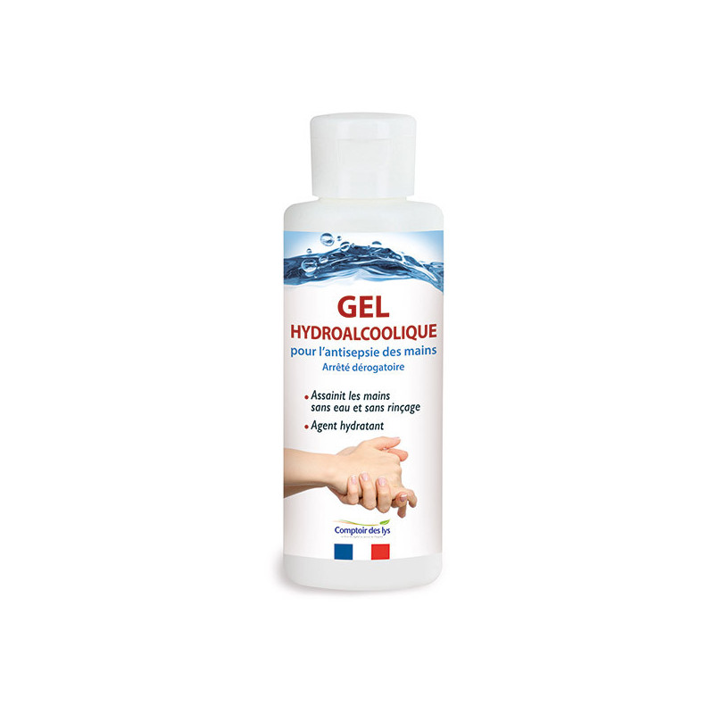 Gel hydroalcoolique mains - 100 ml