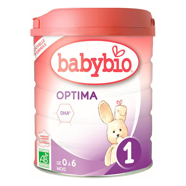 Lait nourrisson Optima - 1° âge - 800g
