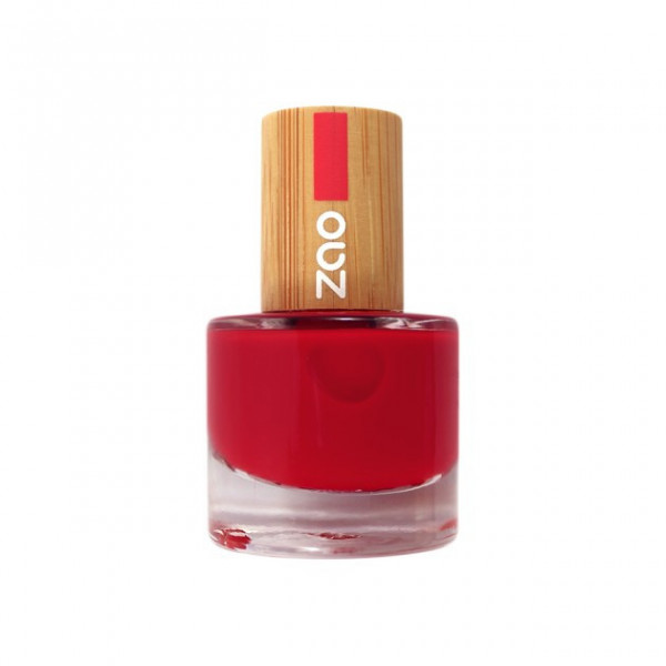 Vernis à ongles n°650 Rouge carmin