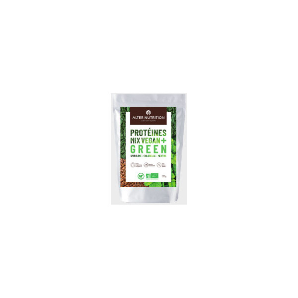 Mix protéines green - 500g