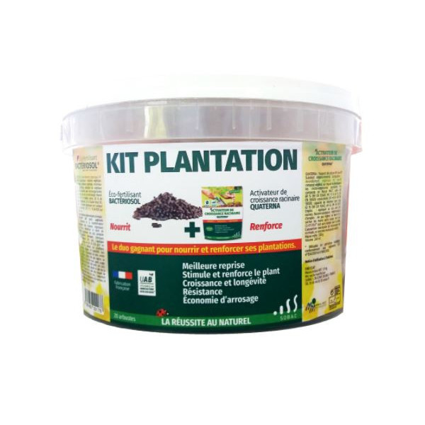 Kit Plantation - 1,7kg