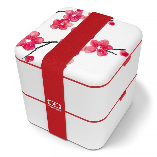 Bento MB Square graphic blossom - 1,7l