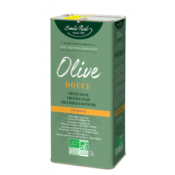 Huile d'olive extra douce - 5L