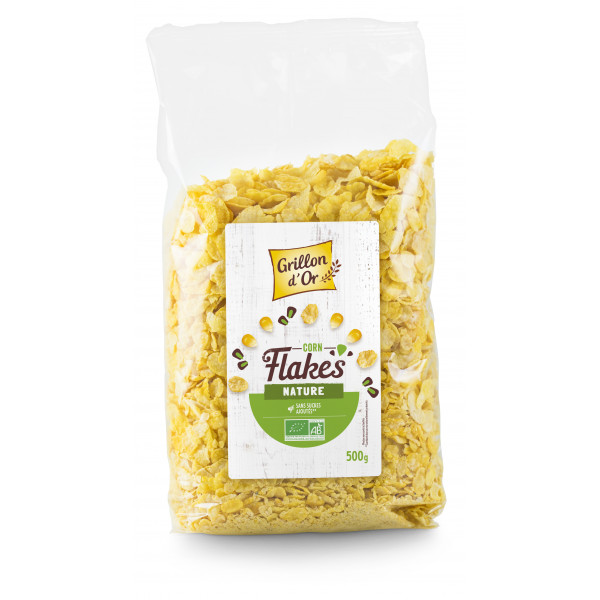 Corn flakes nature sans sucres - 500g