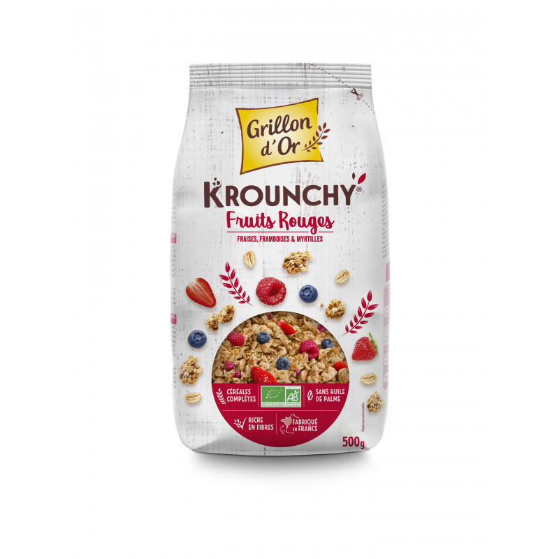 Céréales Krounchy fruits rouges - 500 g