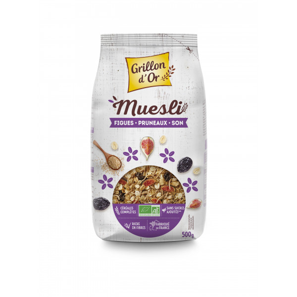 Muesli figue pruneaux son - 500g