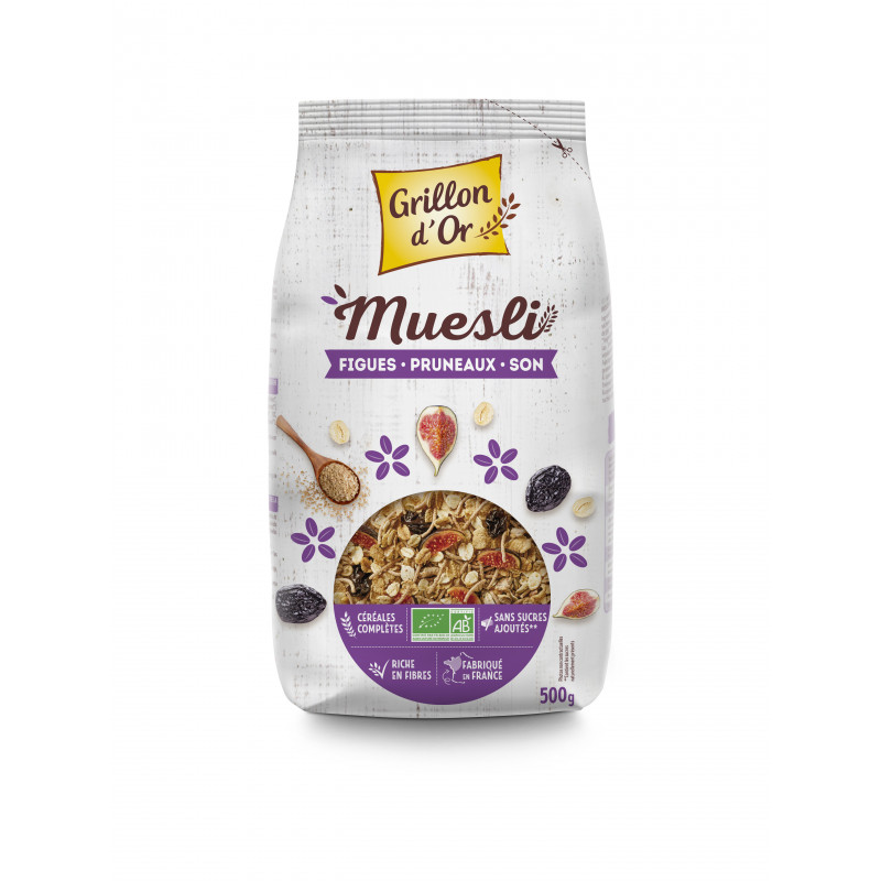 Muesli figue pruneaux son - 500 g