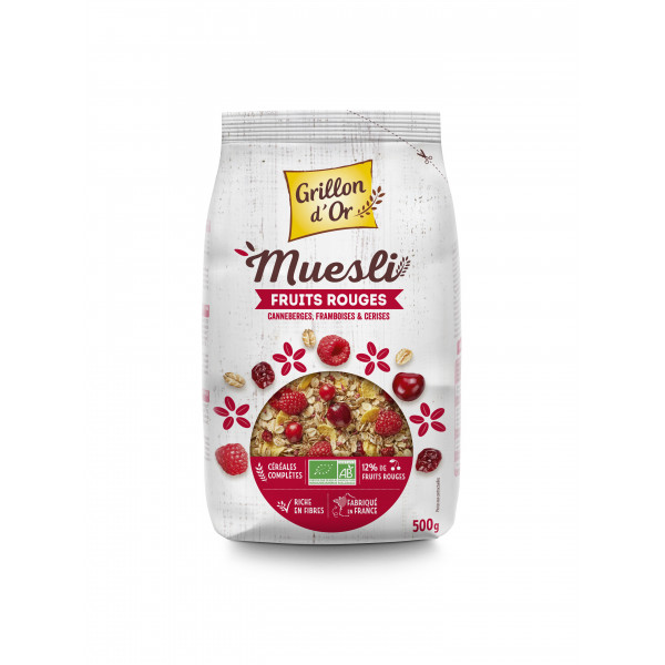 Muesli fruits rouges - 500g