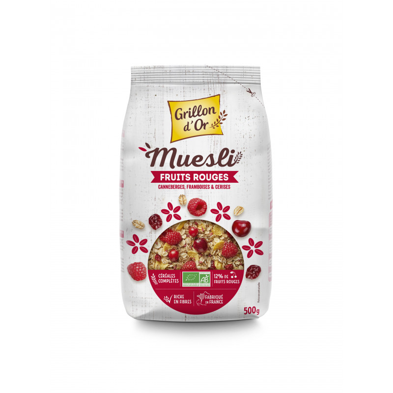 Muesli fruits rouges - 500 g
