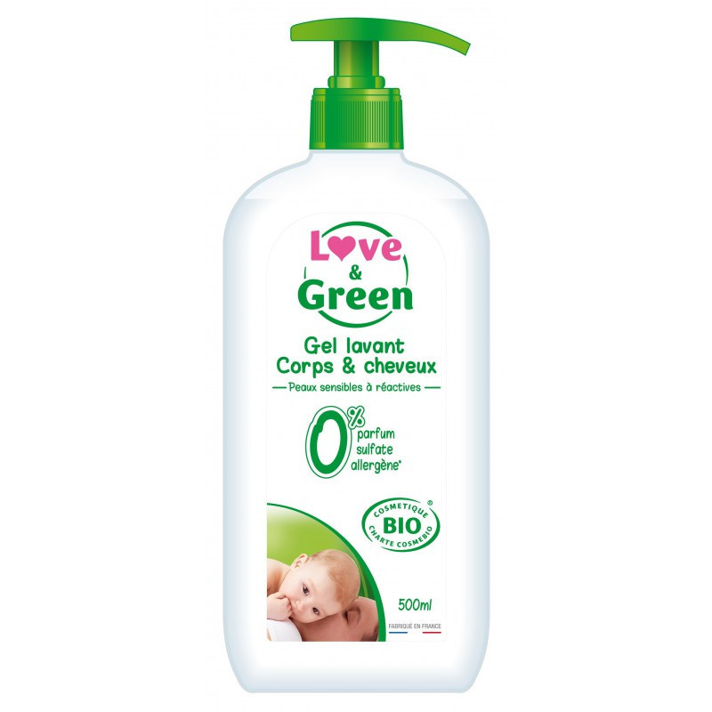 Gel corps cheveux - 500ml