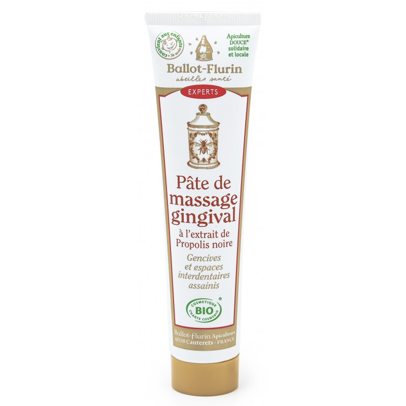 Pâte de massage gingival à la propolis - 75 ml
