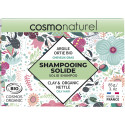 Shampoing solide cheveux gras - argile ortie - 85g