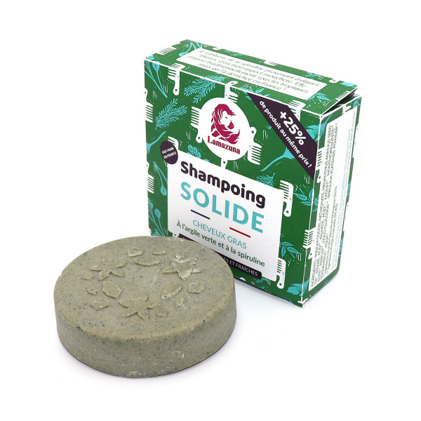 Shampoing solide cheveux gras herbes folles - 55 g