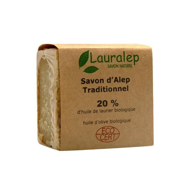 Savon d'Alep 20% traditionnel - 200 g